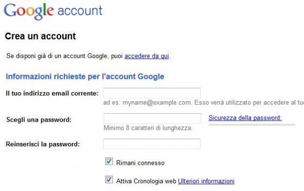 account google docs