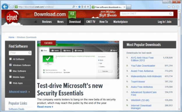 Internet Explorer: AdBlock per il browser di Windows [FOTO]
