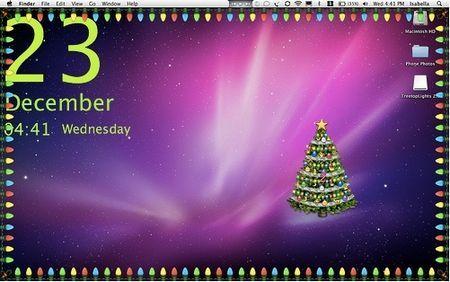 addobbi natale desktop mac
