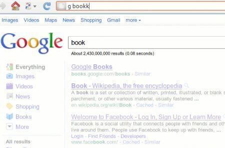 Instantfox: l'addon di Firefox per usare la barra degi indirizzi URL come box di ricerca