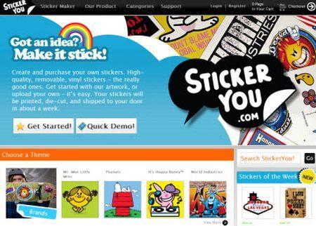 Creare adesivi personalizzati con StickerYou