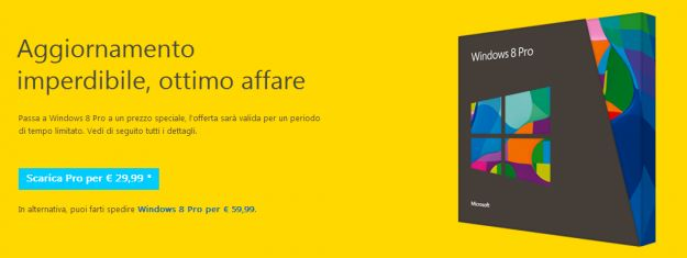 Windows 8, upgrade facile come mai prima