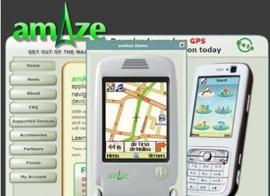 amaze gps mobile
