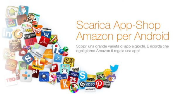 Lo Store Amazon di App Android arriva in Italia: App-Shop per tutti