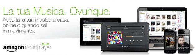 MP3 Store e Cloud Player di Amazon disponibili in Italia