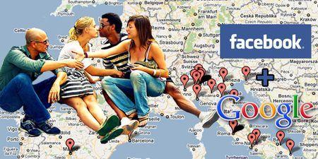 Amici di Facebook su una mappa di Google con WhereMyFriends