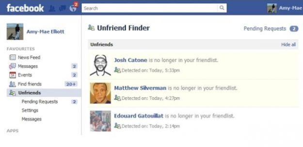 Gli amici su Facebook: come vedere chi ci ha tolto l'amicizia
