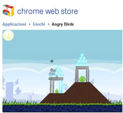 Angry Birds per Google Chrome: il gioco della Rovio a portata di browser