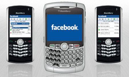 app blackberry facebook