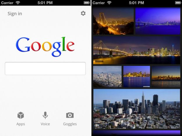 L'app Google Search per iPhone e iPad si rinnova