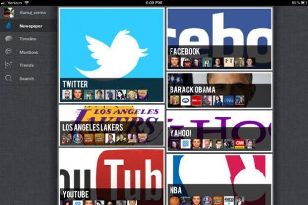 App iPad, leggere Twitter come un quotidiano con Thirst
