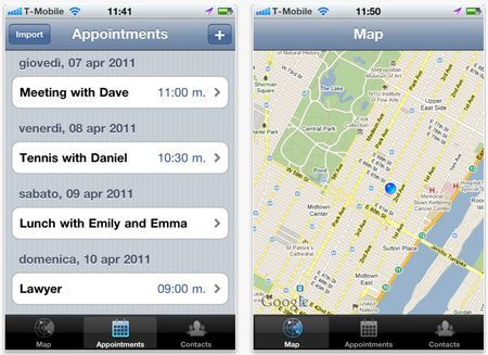 Un'app per iPhone utile quando abbiamo un appuntamento: Arriving Soon