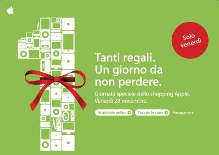 Apple giornata shopping