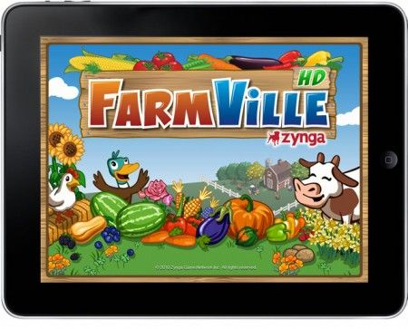 Apple iPad: Farmville arriva in versione HD