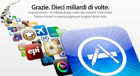 Apple iTunes: raggiunti i 10 miliardi di download!