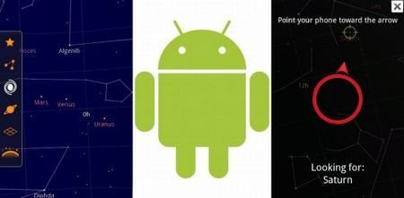 applicazioni android google sky map