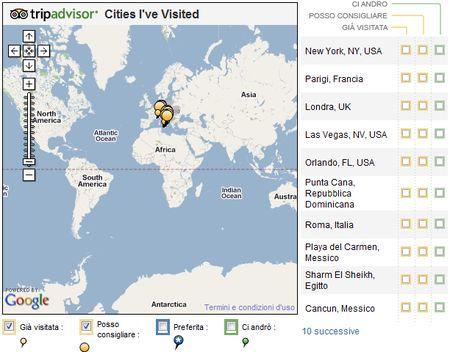 applicazioni facebook cities i ve visited