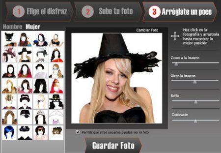 Applicazioni Facebook: Disfrazáte per i travestimenti con le foto