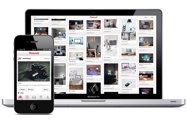 Pinterest: le applicazioni per il nuovo social network