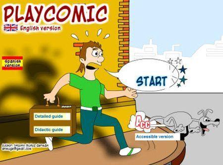 Creare fumetti su internet con PlayComic
