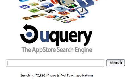 Motore di ricerca per applicazioni per iPhone