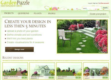 Realizzare un giardino su internet con GardenPuzzle
