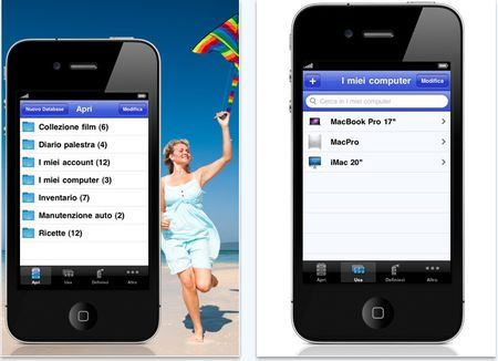 archivi personali iphone idatabase
