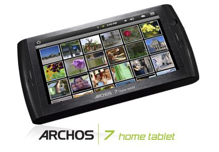 Google: arriva Archos 7 il tablet Android
