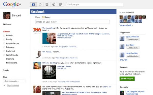 attivare profilo facebook google plus