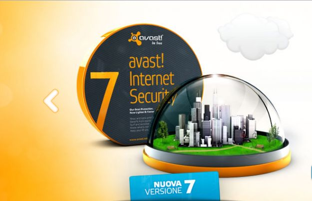 Antivirus gratis: Avast Free Antivirus 7  disponibile al download