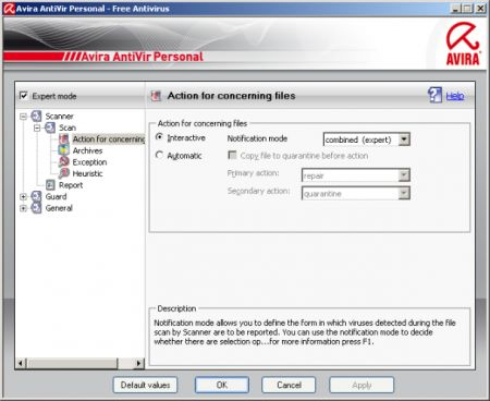 avira 9 con anti-spyware