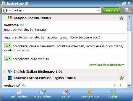 babylon traduttore da