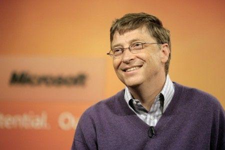 Bill Gates più famoso del Papa e del Dalai Lama