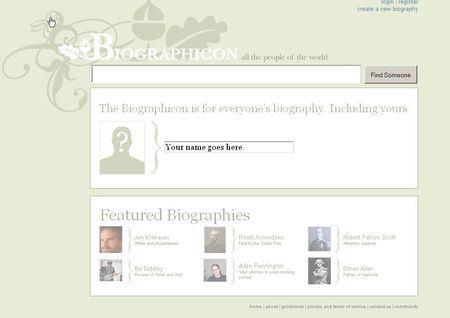 biografie biographicon