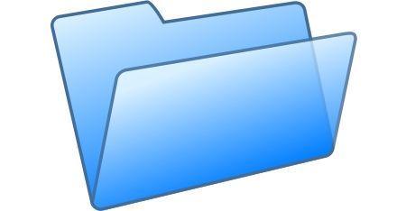 lista file folder