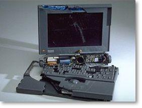 laptop in pezzi