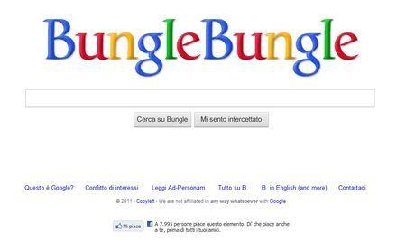 Motore di ricerca in stile Google sul bunga bunga: Bungle Bungle