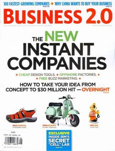 copertina di Business 2.0
