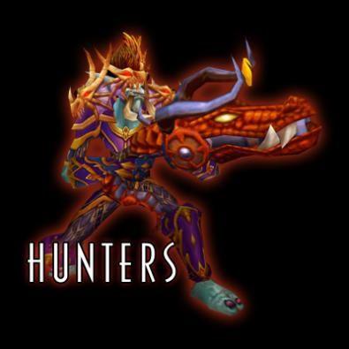 Immagine di un hunter col fucile