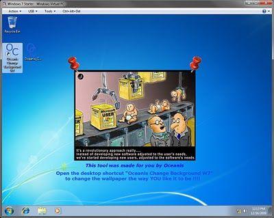 cambiare sfondo windows 7