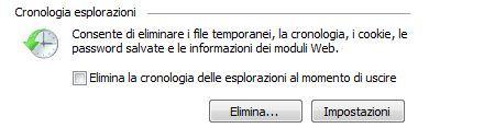 cancellare cronologia internet explorer 150x117