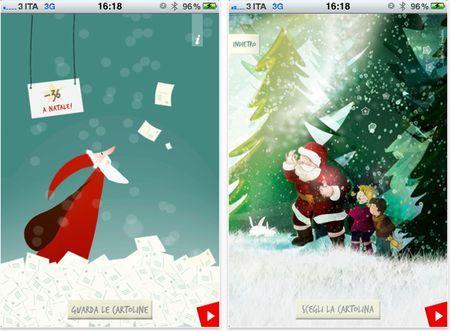 Cartoline di Natale su iPhone: WishArt