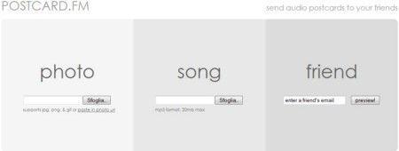 Come creare cartoline elettroniche con una canzone