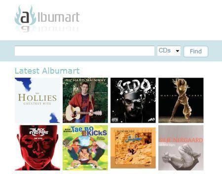 Cercare copertine di CD e DVD con AlbumArt