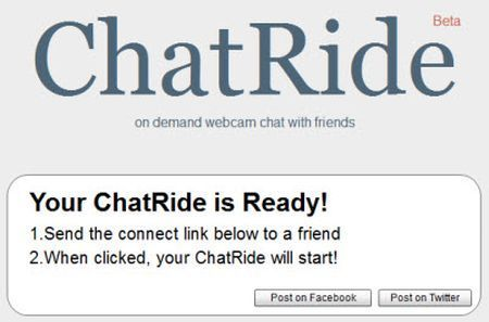 Chat gratuita e immediata con ChatRide