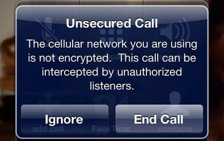 Le chiamate su iPhone non protette ci verranno segnalate in iOS 5