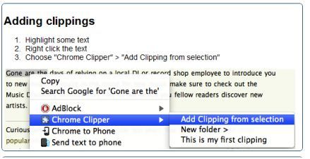 chrome clipper