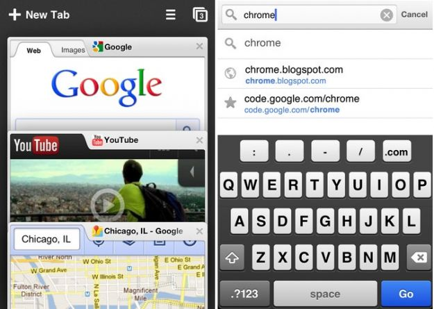 chrome ios iphone