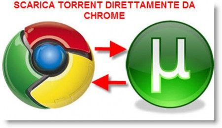 Torrent ricerca: cercare file con Google Chrome