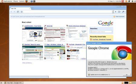 Google Chromium: disponibile per Mac OS X e Linux